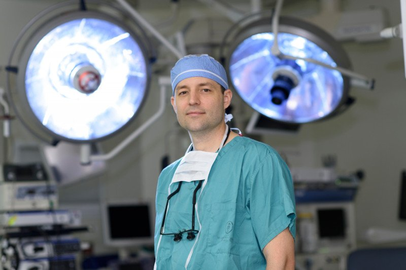 Parathyroid tumor surgeon Brian Untch