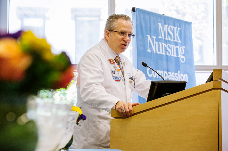 Memorial Sloan Kettering Deputy Chief Nursing Officer Kevin Browne