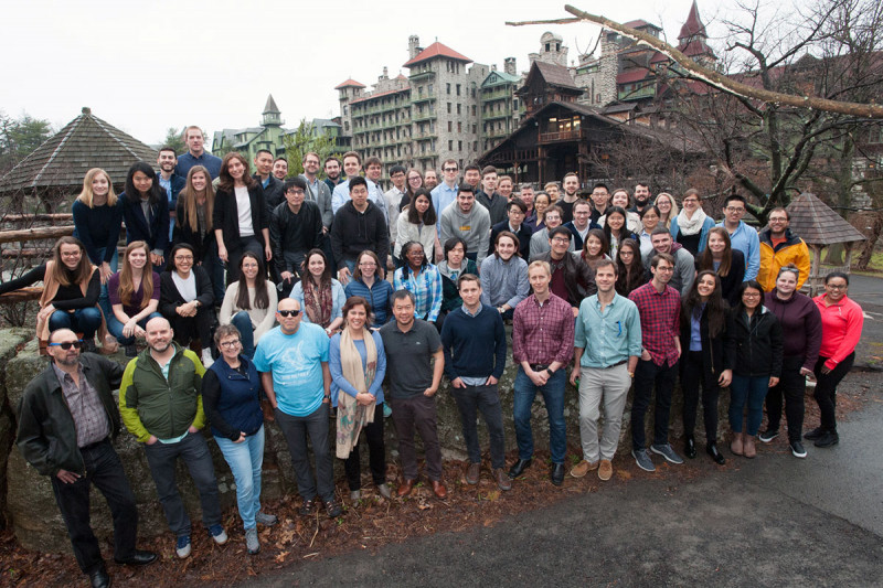 GSK students, faculty, and staff at mountain house