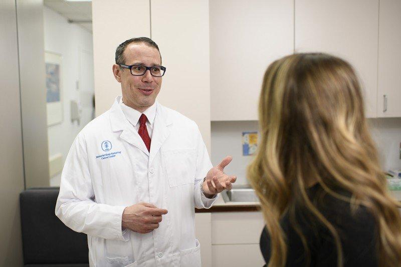 Hematologic oncologist Anthony Mato