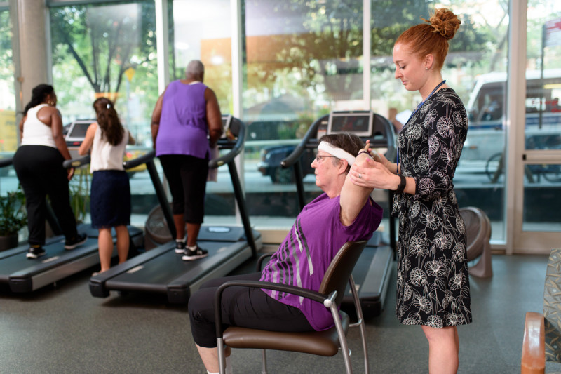 Exercise physiologists like Kylie Rowed assist people with cancer and survivors every day.