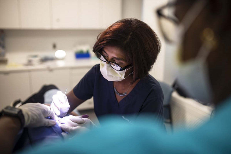 Dermatologist Kishwer Nehal performs Mohs surgery