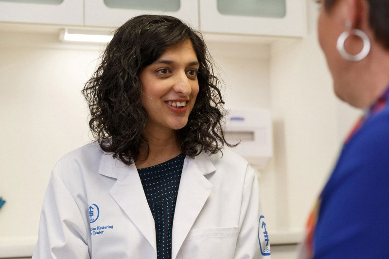 MSK medical oncologist Anita Kumar