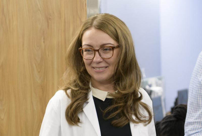 MSK neurologist Elena Pentsova
