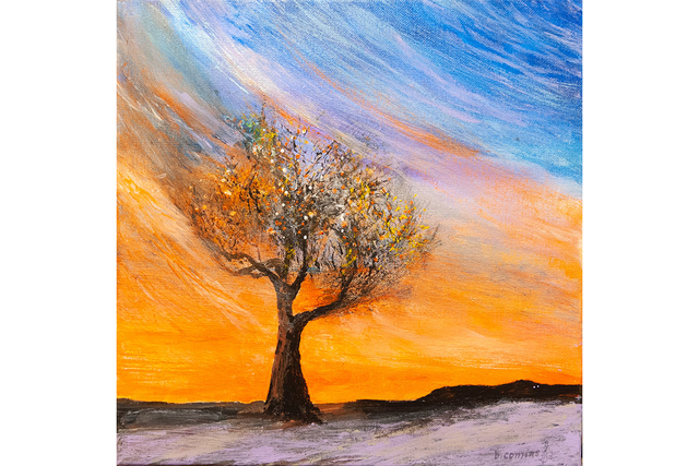 patient artwork depicting a tree