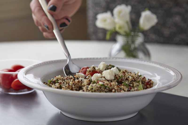 Quinoa Salad with Feta