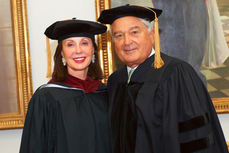 Pictured: Louis Gerstner & Marie-Josée Kravis