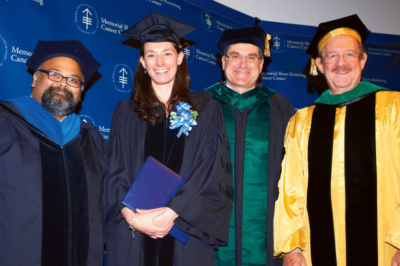 Pictured: Prasad Jallepalli, Kelly Ann George, Craig Thompson & Thomas Kelly
