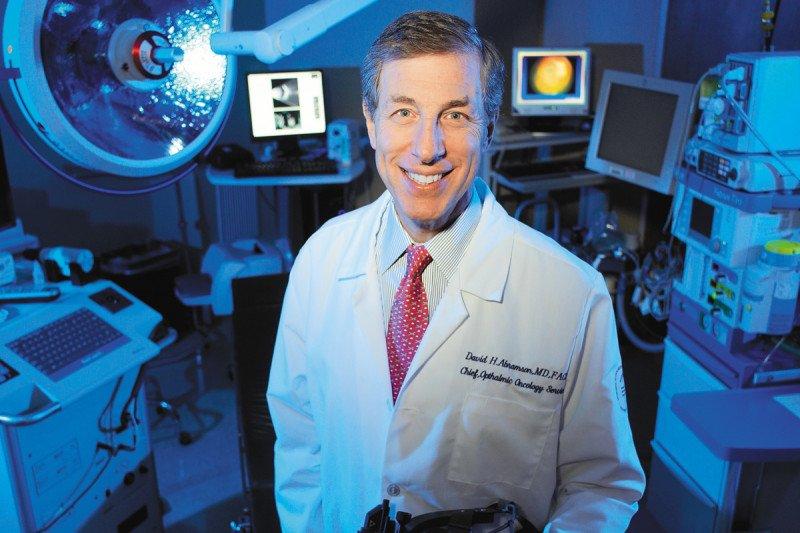Eye melanoma specialist David Abramson