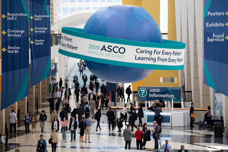 Crowd shot at ASCO 2019