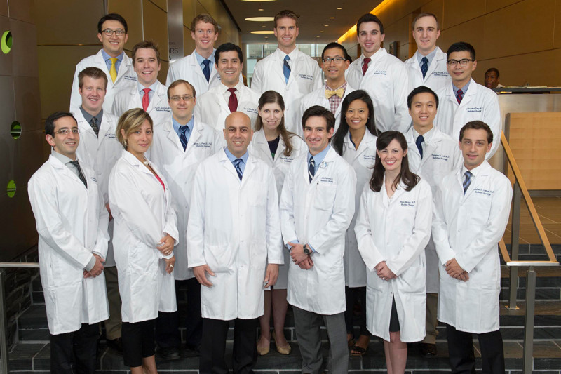 Memorial Sloan Kettering's radiation oncology residents and fellows