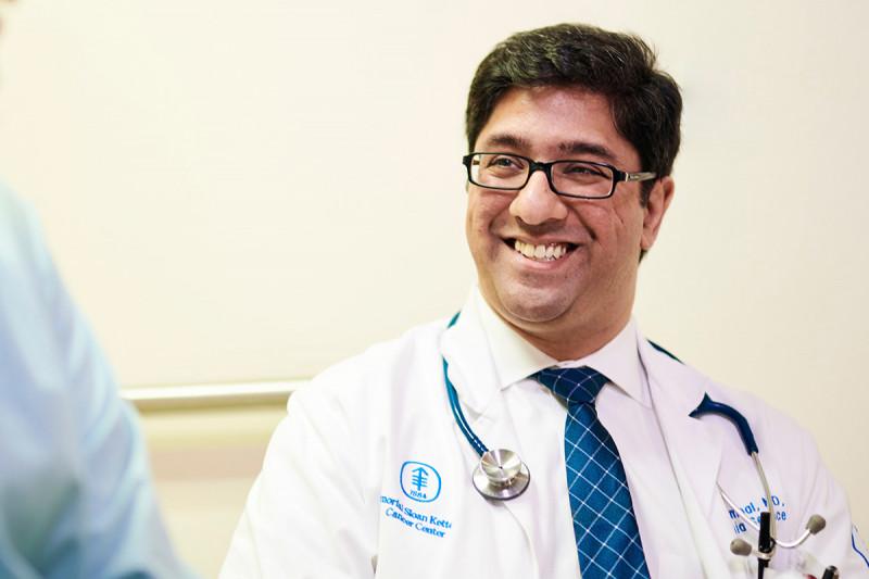 MSK Hematologic Oncologist, Raajit Rampal