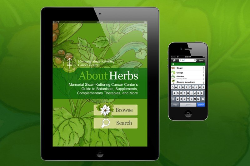 Sloan kettering herbs and supplements