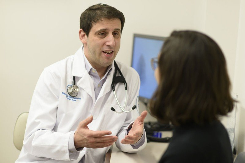 MSK hematologic oncologist Eytan Stein