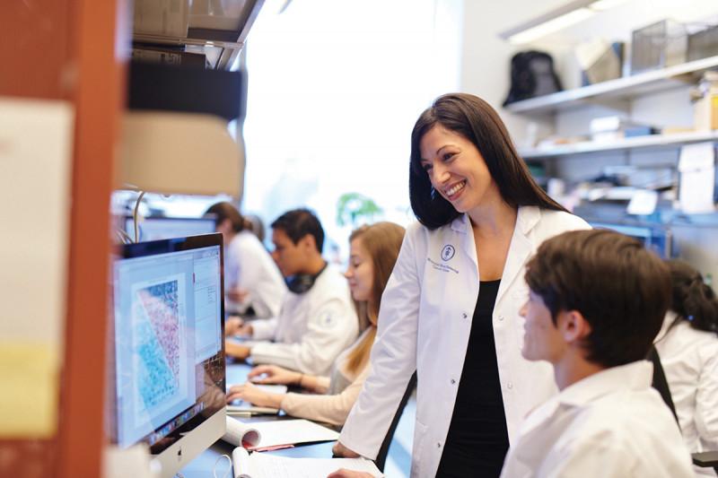 MSK geneticist and data scientist Elli Papaemmanuil