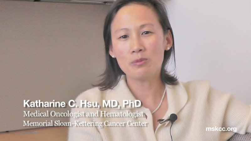 Hematologist-oncologist Katharine Hsu reviews a study that examined KIR allele typing as criteria for matching stem cell donors with acute myeloid leukemia patients.