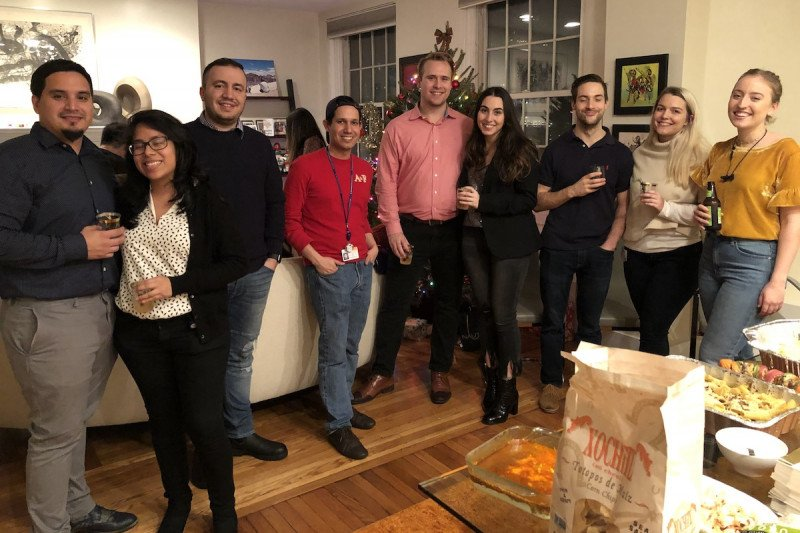 Lowe Lab Holiday Party