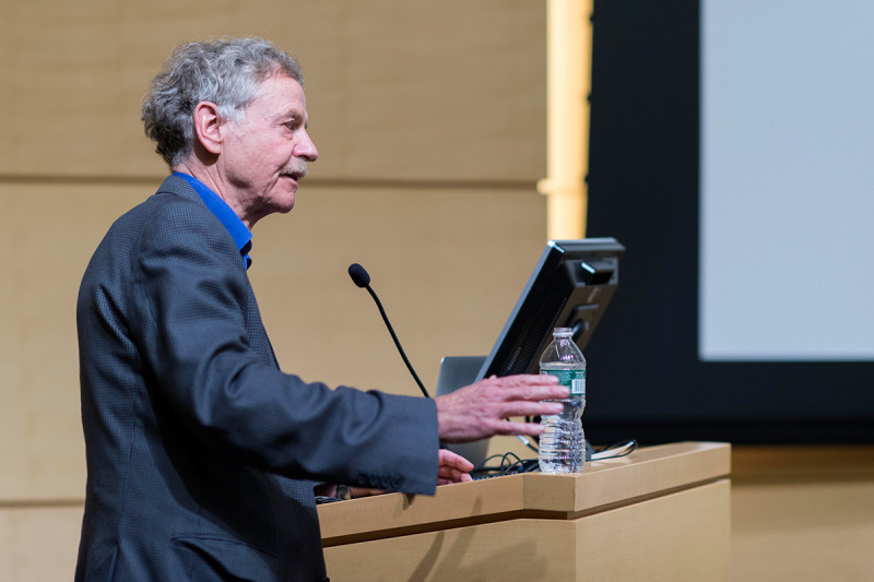 "Rudolf Jaenisch of the Whitehead Institute presents ""Stem Cells, Pluripotency, and Nuclear Reprogramming."""