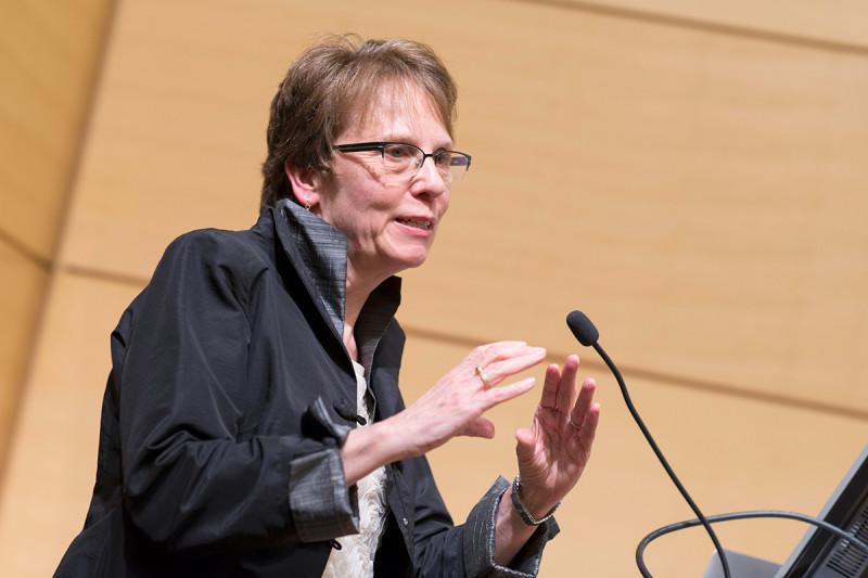 "Alexandra Joyner of the Sloan Kettering Institute's Developmental Biology Program and the Center for Stem Cell Biology presents ""Differential Regulation of Adult Stem Cells by Sonic Hedgehog Signaling."""