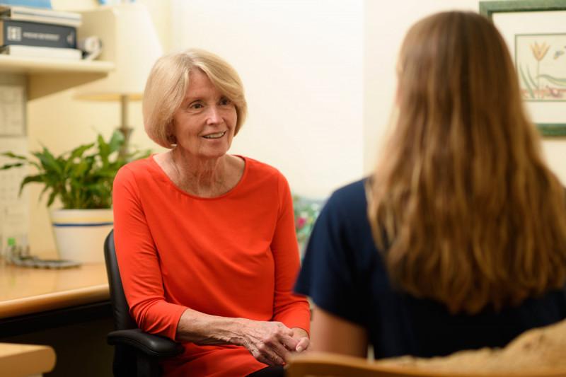 MSK social worker Anne Martin
