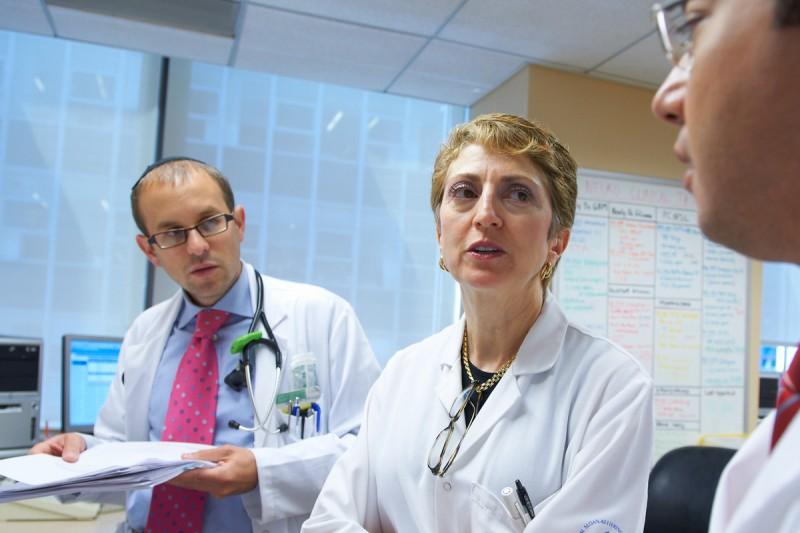 Neuro-oncologist Lisa DeAngelis