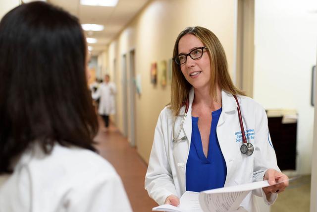 MSK surgeon Jennifer Mueller