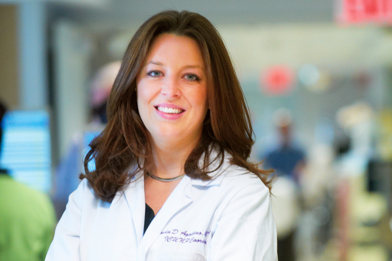 At Work: Nurse Practitioner Rhonda D'Agostino