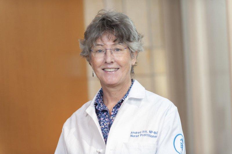 Memorial Sloan Kettering nurse practitioner Andrea Fry