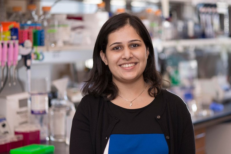 Mohita Tagore, a postdoctoral fellow in the Sloan Kettering Institute