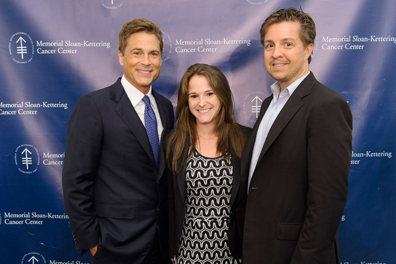 Pictured: Rob Lowe, Susan Moser & Mark Popadick
