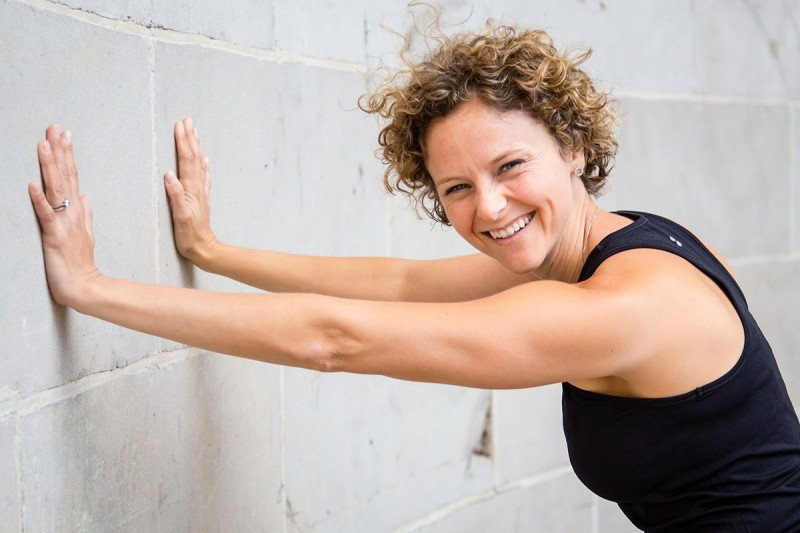 Fitness Instructor Lauren Chiarello