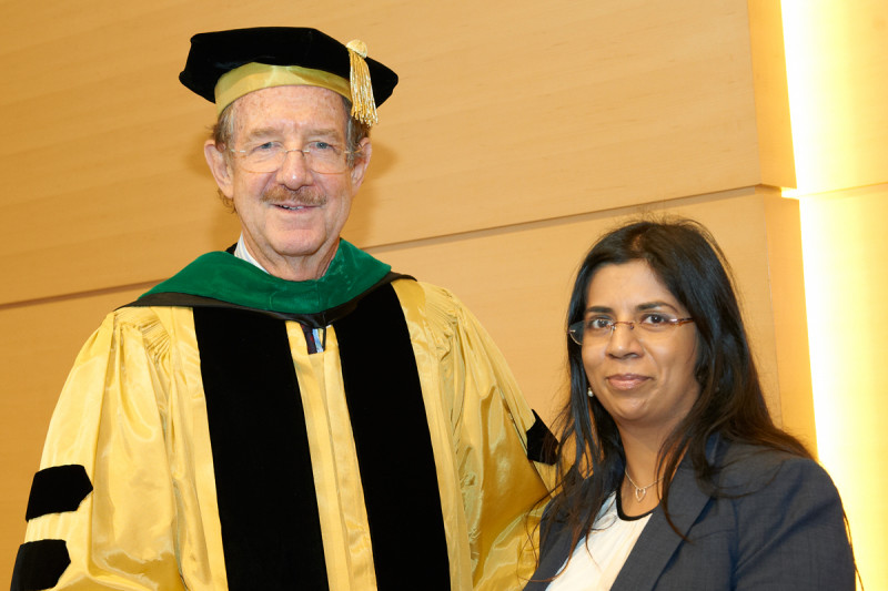 Pictured: Thomas Kelly & Swarnali Acharyya