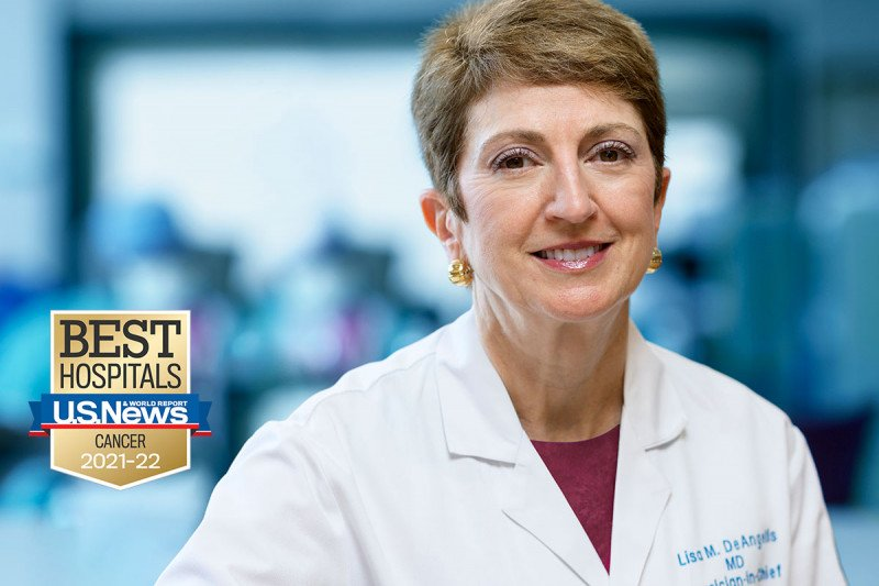 MSK Physician-in-Chief Lisa DeAngelis