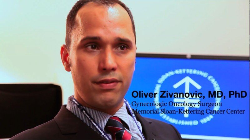 Gynecologic oncologist Oliver Zivanovic describes the use of heated intraperitoneal chemotherapy to treat ovarian cancer.