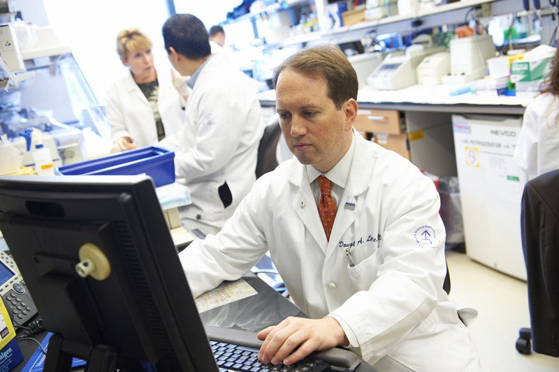Memorial Sloan Kettering researchers are studying new ways to test for ovarian cancer
