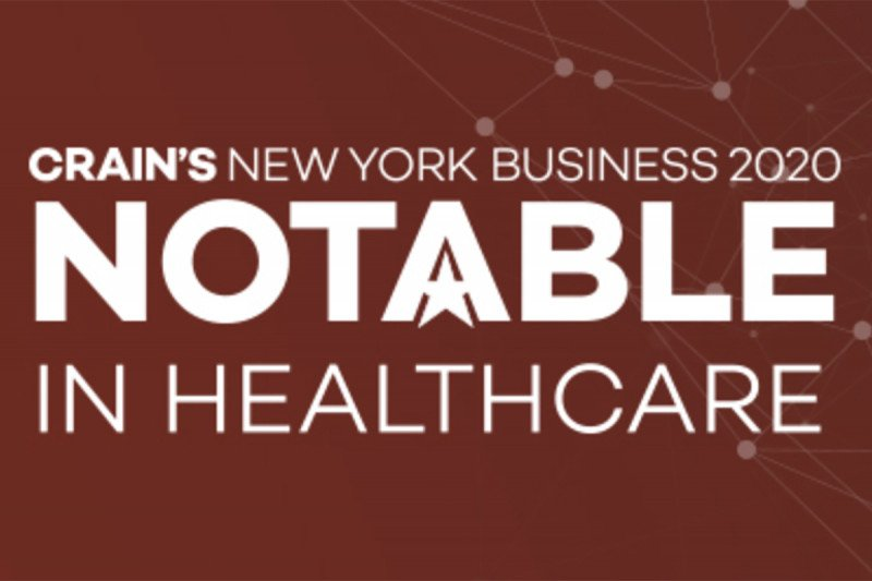 Crain's Notable in Health Care in NYC List