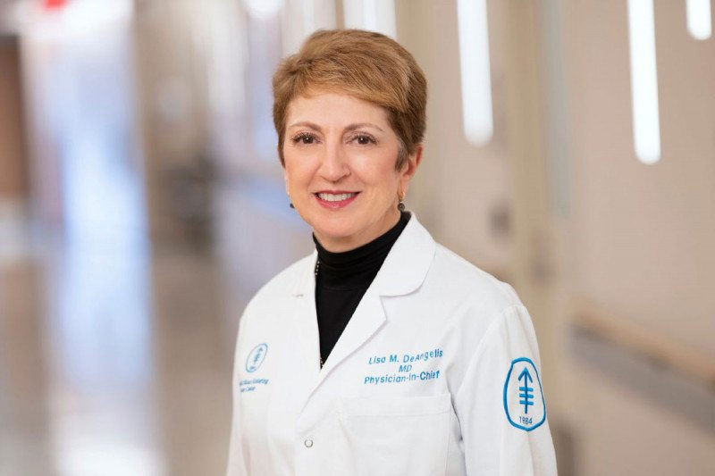 Lisa M. DeAngelis, MD, Physician-in-Chief and Chief Medical Officer of MSK