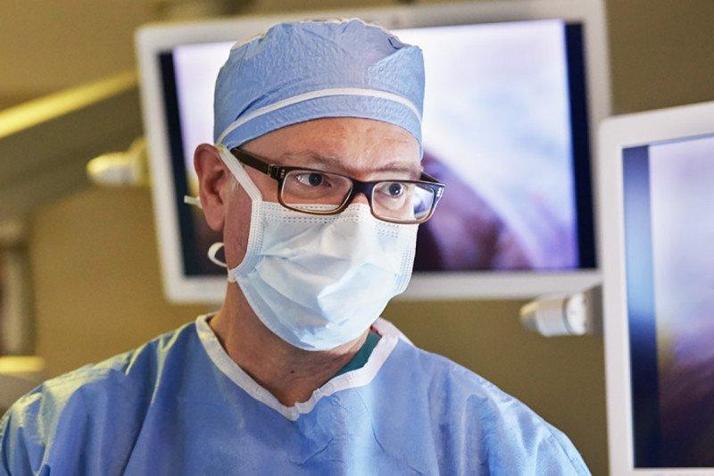 David Jones in the operating room