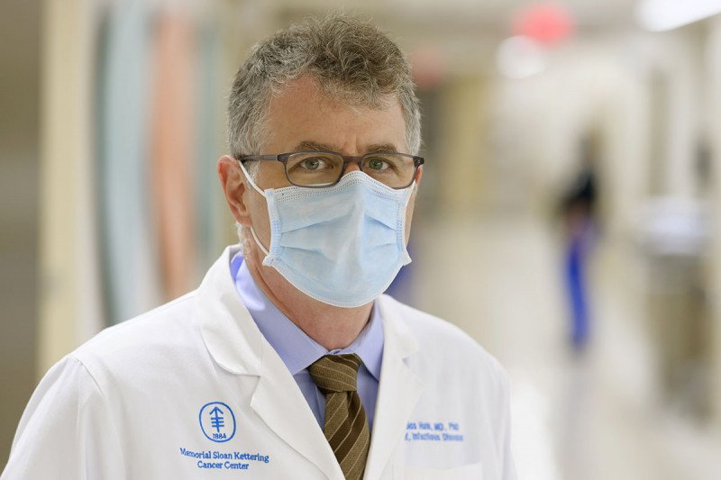 Tobias Hohl, Chief of Memorial Sloan Kettering's Infectious Diseases Service