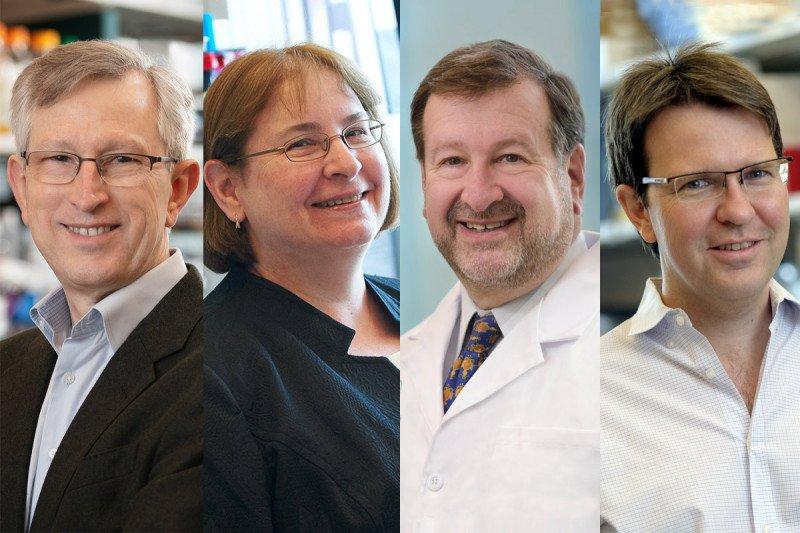 Joan Massagué, PhD; Maria Jasin, PhD; David A. Scheinberg, MD, PhD; and Hans-Guido Wendel, MD.