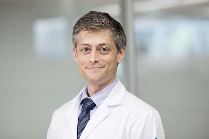 Aaron Mitchell, MD, MPH, a medical oncologist and health services researcher in the Department of Epidemiology and Biostatistics