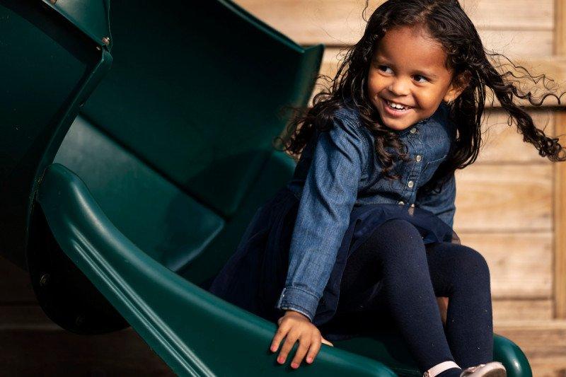 Rihanna, 3, for MSK Kids.