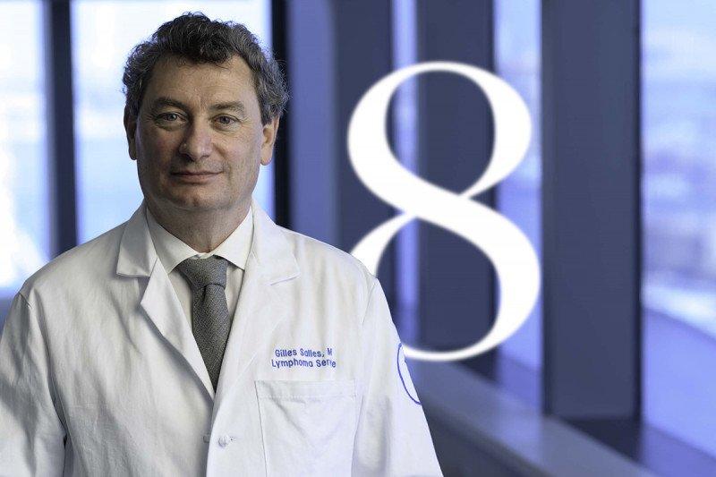 Lymphoma expert Gilles Salles