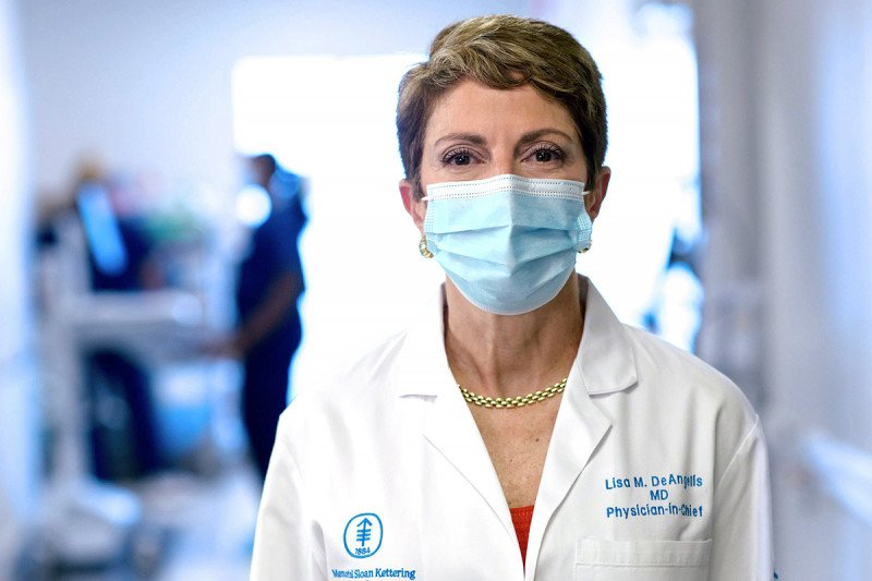 Physician-in-Chief and Chief Medical Officer Lisa DeAngelis
