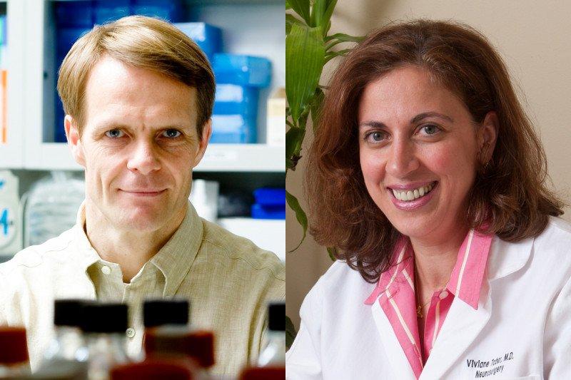 Lorenz Studer and Viviane Tabar