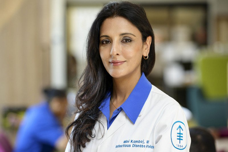 Memorial Sloan Kettering Chief Medical Epidemiologist Mini Kamboj