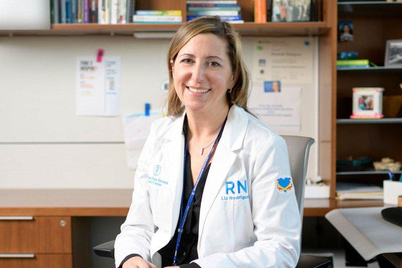 Elizabeth Rodriguez, DNP, RN, Director of Nursing for the David H. Koch Center for Cancer Care.