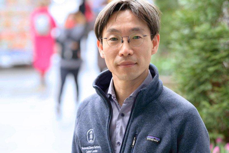 MSK hematologic oncologist Jae Park