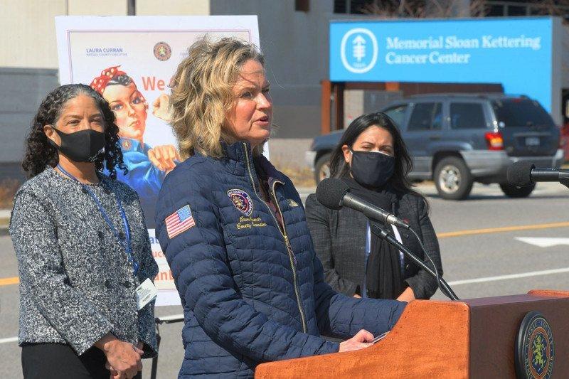 Nassau County Executive Laura Curran announces partnership