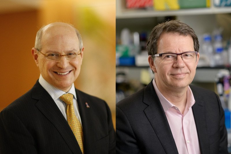 Larry Norton, MD, and Michel Sadelain, MD, PhD